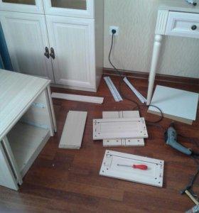 Сборка/ разборка мебели. Электрика.