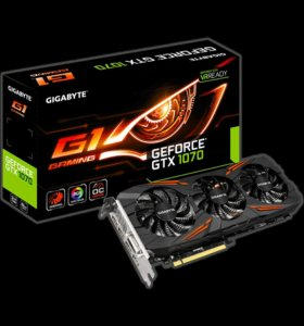 GIGABYTE Nvidia GeForce GTX 1070 G1 Gaming 8G