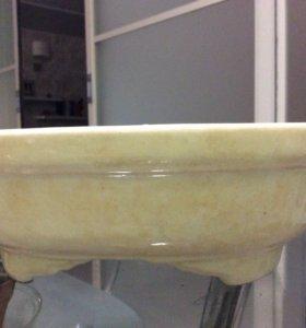 керамическое кашпо 25 см