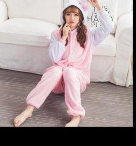 Пижама Hellokitty кигуруми!