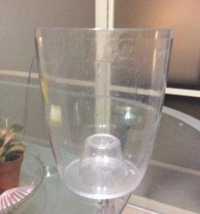 пластиковое кашпо для орхидей 12 см