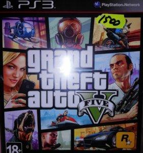 Игра GTA 5 на PS3