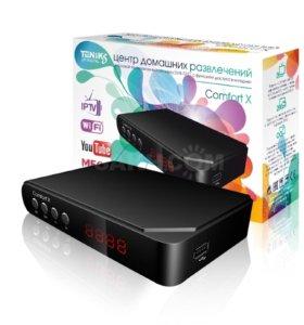 Цифровой ресивер Teniks Comfort X. DVB-T2, DVB-C.