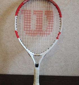 Детская ракетка для большого тенниса Wilson