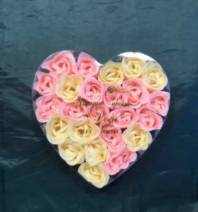Мыльные цветы « Розы» для ванны