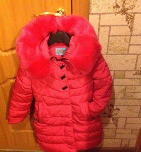 Пальто/пуховик на девочку