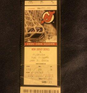 Билет (NHL).