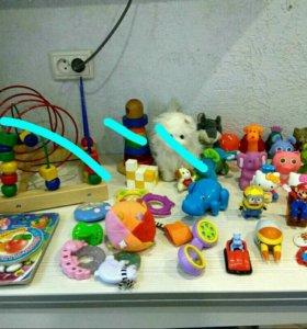 Детские игрушки пакетом или отдельно