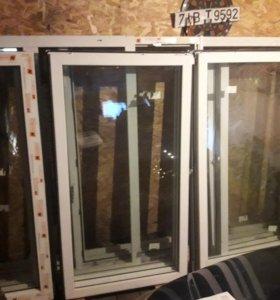 Окна с лоджии