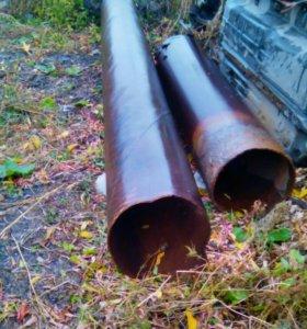 Трубы, пол-трубы D 420мм
