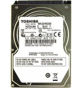 Жёсткий диск для ноутбука 320гб