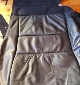 Обивка подушки сидения Honda Cr-v