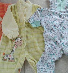 Вещи на новорождённого