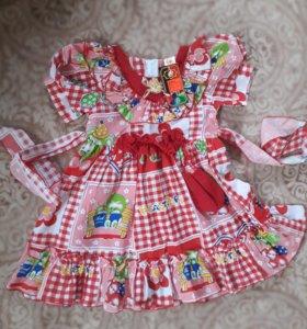 Платье на девочку (новое)