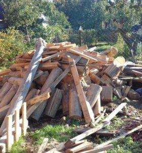 Доски на дрова для дачи, дома