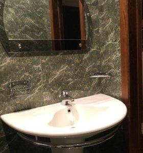 Раковина с зеркалом