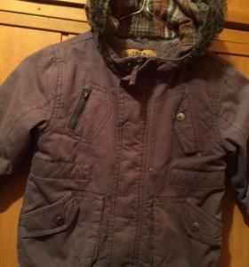Куртка, парка для мальчика от 1 до 2.5