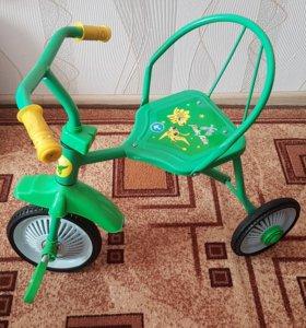 Велосипед трёхколёсный Moby Kids