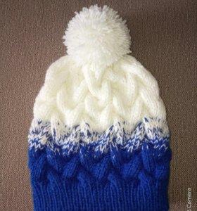 Новая вязанная шапка