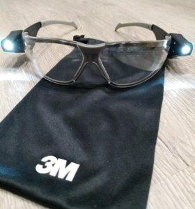 Очки 3М со светодиодами