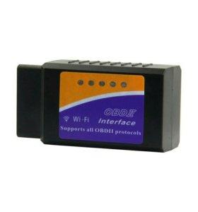 Диагностический сканер Elm 327