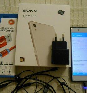 Sony XPERIA Z5 E6653 micro SD 32 магнитный кабель
