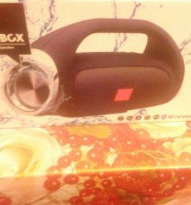Колонка BoomBox блетузная