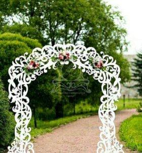 Свадебные арки, декоративные дополнения к ним