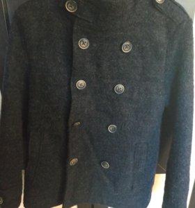 Пальто для подростка 80% шерсть