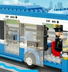 Лего автобус