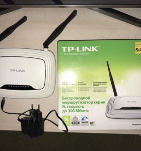Wifi маршрутиризатор TP link tl-wr841n