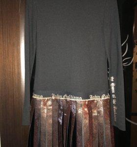 Платье брендовое Италия John Galliano