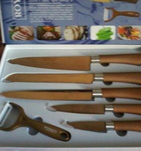 Набор ножей с титановым покрытием,1 500