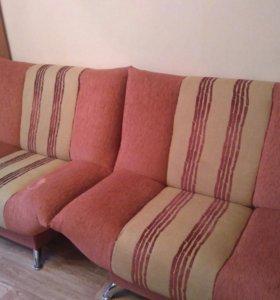 Продам диван с 2-мя креслами. Самовызов
