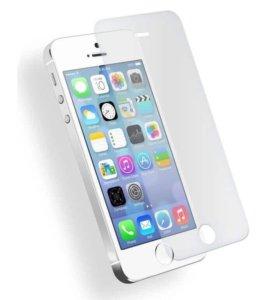 Защитное стекло на iPhone 5,5s,5c,5se