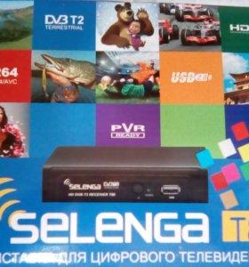 Цифровой ТВ приемник DVB-T2 SELENGA T 80