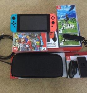 Nintendo Switch + игры и аксессуары