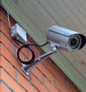 Видеонаблюдение, пожарная охрана,сигнализация