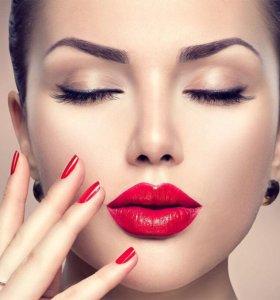 Татуаж-перманентный макияж ♦️Брови ♦️Веки ♦️Губы