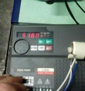 Частотный преобразователь ESQ-A500 440v,2.2kw