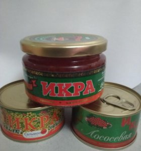 Красная икра (Сахалин,Камчатка) 140гр,220гр.