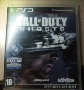 Диск на PS-3 Call of Duty Ghosts