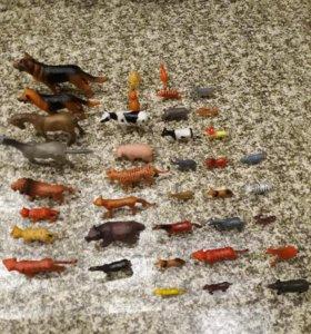 Набор игрушек. Фигурки животных. Все.