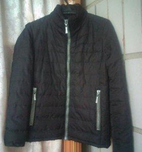 Тёплая осенняя мужская куртка