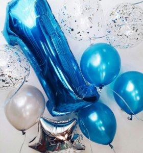 Гелиевые шары, подарки из шаров