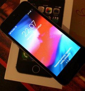 iPhone 5 S .16 Gb , с отпечатком ..
