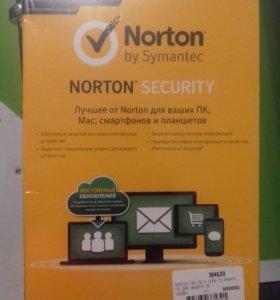 Антивирус на 5 устройств Norton Delux