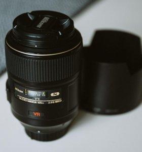 Nikon Nikkor 105mm f/2.8G IF-ED AF-S VR Micro