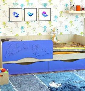 Кровать Дельфин 1,6