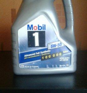 Моторное масло MOBIL 5w50 4л